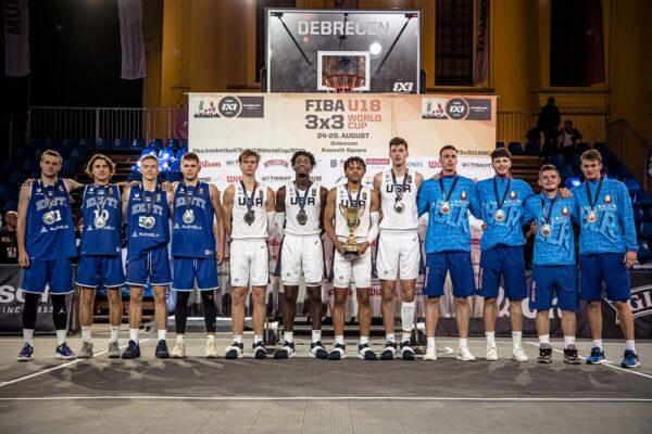 Eesti 3x3 korvpall MM hõbe 2021